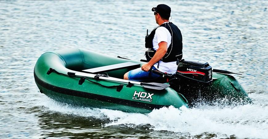 тюнинг лодки hdx
